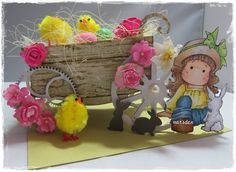 Easter cart tutorial on my blog http://lizscreativecorner.blogspot.co.uk/2015/04/some-bunny-loves-you-with-tutorial.html