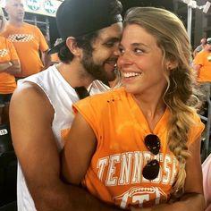 Thomas Rhett and his wife