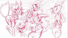 Jayjay sketches by Vivziepop. #Zoophobia #Vivzmind