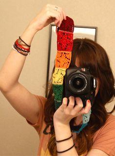 Sans Limites Crochet: Crochet Camera Strap DIY