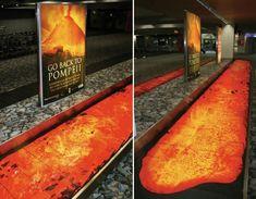 Creative advertising #Pompeii