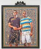 Kehinde Wiley at the Jewish Museum, previously at the SCAD Museum of Art.