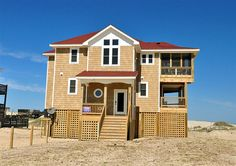Twiddy+Outer+Banks+Vacation+Home+-+As+You+Wish+-+4x4+-+Oceanfront+-+4+Bedrooms