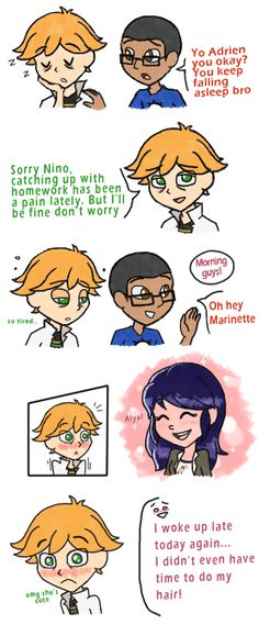 I dream of the day we see Marinette with her hair undone ^^
