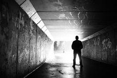 In the tunnel by AdrianPerekPL