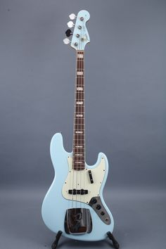 1966 fender jazz bass - sonic blue