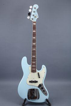 1966 fender jazz bass - sonic blue
