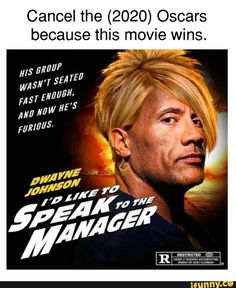 Cancel the Oscars because this movie wins. Crazy Funny Memes, Really Funny Memes, Stupid Funny Memes, Funny Relatable Memes, Hilarious, Karen Memes, Wholesome Memes, Funny Comics, Popular Memes