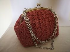 Prada, Crochet Beach Bags, Crochet Bag Tutorials, Coin Bag, Crochet Handbags, Crochet Chart, Purses And Bags, Shoulder Bag, Wallet