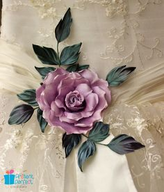 Wedding sash flower rose brooch bridal by PresentPerfectStudio, $120.00