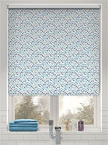 Splash Bricks Cool Blue thumbnail image Living Room Blinds, House Blinds, Blinds For Windows, Blockout Blinds, Vinyl Mini Blinds, Best Blinds, Blinds Online, Bathroom Blinds, Shutter Blinds