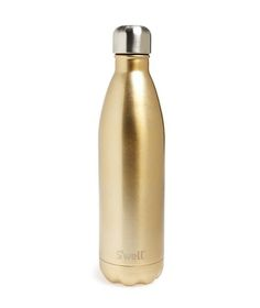 S'well 'Sparkling Champagne' Stainless Steel Water Bottle at Nordstrom Swell Water Bottle, Cute Water Bottles, Drink Bottles, Stainless Steel Cups, Stainless Steel Water Bottle, Thermos, Nordstrom, Gifts For Boss, Water Well