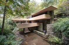 Fallingwater // Mill Run, PA // designed by Frank Lloyd Wright