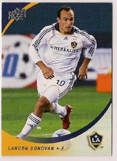 FREE SHIPPING 2008 Landon Donovan Upper Deck Soccer Card