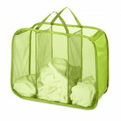 f483ec21b7 Lime Pop and Fold Laundry Sorter - great economical way to sort laundry!