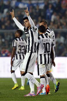 Alvaro Morata of Juventus