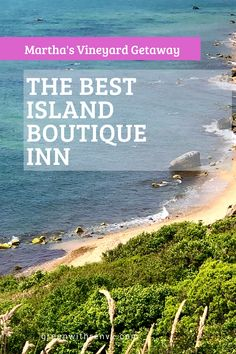 A Martha's Vineyard bed and breakfast provides a quintesssential New England coastal getaway. The award winning Nobnocket Inn combines island luxury with a modern twist. | Where to stay on Martha's Vineyard |Coastal Getaway | New England Boutique Inn | Martha's Vineyard Hotels #Massachusetts #island #NewEngland #marthasvineyard