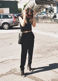 Sofia Richie. Pants.