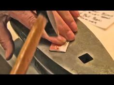 Nancy L.T. Hamilton shows you how to do basic riveting in jewelry.    The set of four riveting tools is from: Tim lazure at http://timlazure.com/?page_id=29    View this video and more on my blog:  http://www.nancylthamilton.com/tips/jewelry-tip-how-to-rivet/
