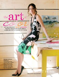 Spring Fashion Stylebook, photographed by Nancy Nolan for @At Home in Arkansas Magazine  http://www.athomearkansas.com/article/spring-fashion-stylebook-0