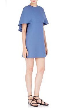 Cape-Back Dress