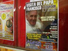 """IPIALES, NARIÑO, COLOMBIA     """"Más de 20.000 personas cruzarán la frontera norte por visita del papa Francisco y Copa América"""" (ANDES INFO. - Mc., 10 JUN 2015)."""