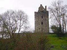 Hanna castle, Sorbie Scotland