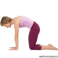 Yoga Journal - Cat Pose