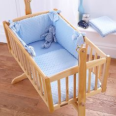 #4baby dimple blue boys 2 #piece rocking crib/cradle quilt and #bumper bedding se,  View more on the LINK: 	http://www.zeppy.io/product/gb/2/191848601838/