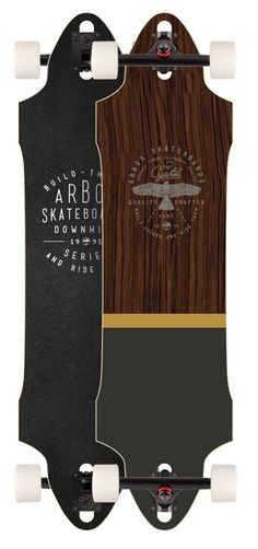 Arbor Cypher Longboard Deck (Deck Only) | Boards on Nord