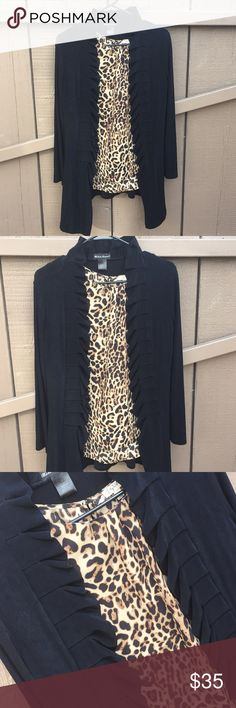 Made in Heaven black cardigan. Made in Heaven black cardigan. Size small. Made in Heaven Jackets & Coats