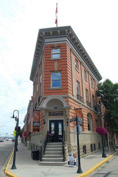 CANADA - ALBERTA - Lacombe Flatiron Building ... I was born in the beautiful city of lacombe