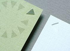 business cards with printing effects