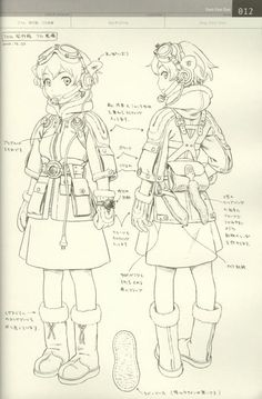 Range Murata - (Linkage LastExile) - Fam, The Silver Wing - Character Filegraphy… Character Model Sheet, Female Character Design, Character Modeling, Character Creation, Character Design References, Character Design Inspiration, Character Concept, Character Art, Concept Art