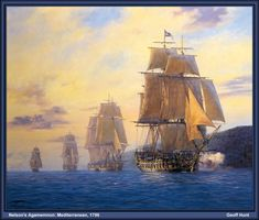 Nelson's Agamemnom- Mediterranean 1796  #p-tall_ships063.jpg Photo:  This Photo was uploaded by inuitsea. Find other p-tall_ships063.jpg pictures and photos or upload your own with Photobucket f...