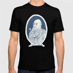 By Darwin's Beard T-shirt by Andrew Henry | Society6