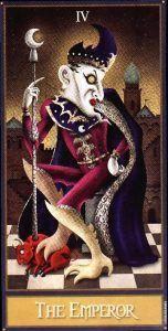 The Emperor - Deviant Moon Tarot Deck