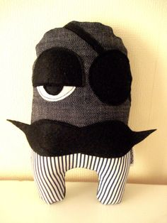 Pirate Striped by cronopia6 on Etsy, $15.00
