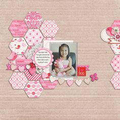 10 Beautiful Valentine's Day Scrapbook Layouts