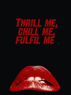 Thrill me, chill me, fulfill me...seems like a great name for the event!