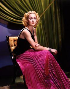 [A strangely blonde] Jane Wyman by George Hurrell, 1938