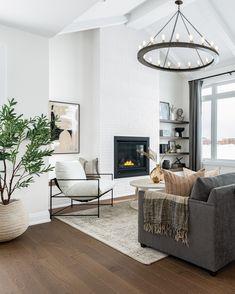 Home Living Room, Living Room Decor, Living Spaces, Living Room White Walls, Living Room Artwork, Dark Floor Living Room, Living Room Modern, Living Room Inspiration, Home Decor Inspiration