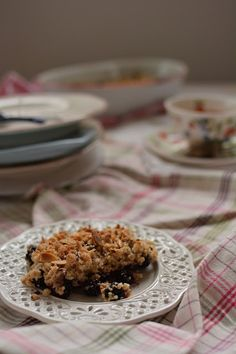 Cardamom scented Blackberry Vegan Crisp