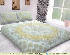 Shop high quality Indian Medallion duvet cover queen twin sized in ombre print. This cotton bohemian bedding set comes for promises to be a relaxed and soft doona cover for bedroom. Handmade Duvet Covers, Modern Duvet Covers, Bed Covers, Bohemian Bedding Sets, Luxury Bedding Sets, King Bedding Sets, Duvet Bedding, Mandala Duvet Cover, Matching Bedding And Curtains