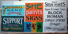 By She Paints Signs