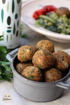 Délicieuses petites boulettes de lentilles, recette végétale de base sans soja - La Fée Stéphanie Veggies, Ethnic Recipes, Gluten, Tomato Paste, Dumplings, Vegetable Recipes, Vegetables