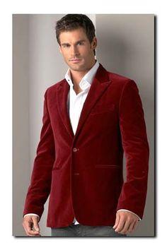 Mens Lambs Wool Blazer - Baron Boutique