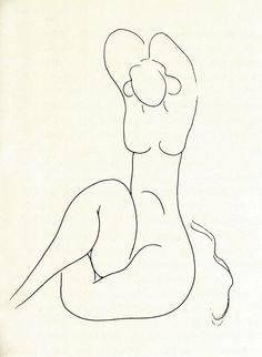 Henri Matisse, La Torsem et Native Nue, 1932