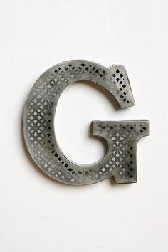Urban Outfitters  Acid Etched Letter