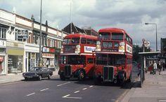 College Road, Harrow, 1978 Rt Bus, Routemaster, Double Decker Bus, Bus Coach, London Bus, London Transport, Busses, London Photos, Historical Photos